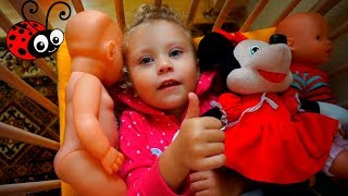 Constructor Sovetic,Baby Born,Trenut Colorat/Melissa se joaca/Video pentru Copii