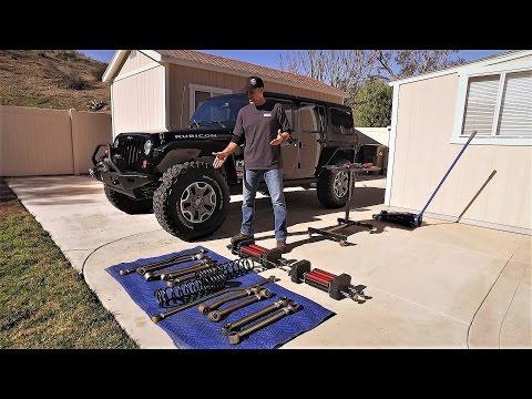 Jeep Wrangler JKU Suspension UPGRADE Game Changer 6Pak DIY - Metalcloak Lift Kit
