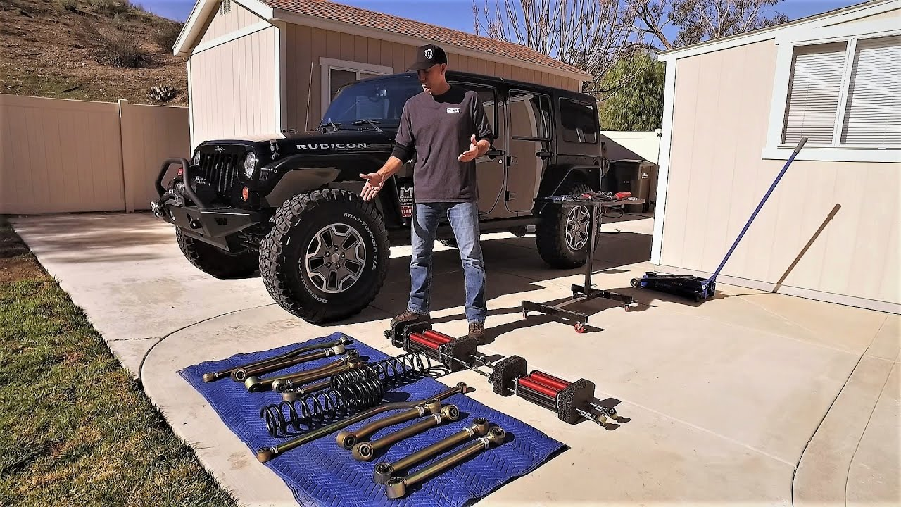 Jeep wrangler jku suspension upgrade game changer 6pak diy jeep wrangler jku suspension upgrade game changer 6pak diy metalcloak lift kit youtube solutioingenieria Images