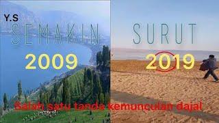 Perkembangan Surut nya Danau Tiberias / Danau Galilea  Akhir 2018 (Remaster)