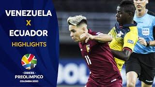 Venezuela 1-0 Ecuador l Preolímpico 2020