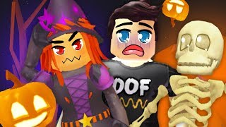 WORKING FOR THE WICKED WITCH // Roblox // Halloween Mining Simulator