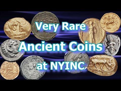 Ancient Coins Shine at 2018 NYINC