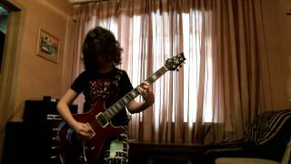 11 years old - Kobzev Maksim - Ozzy Osbourne - Breaking All The Rules - cover - 2012-03-04