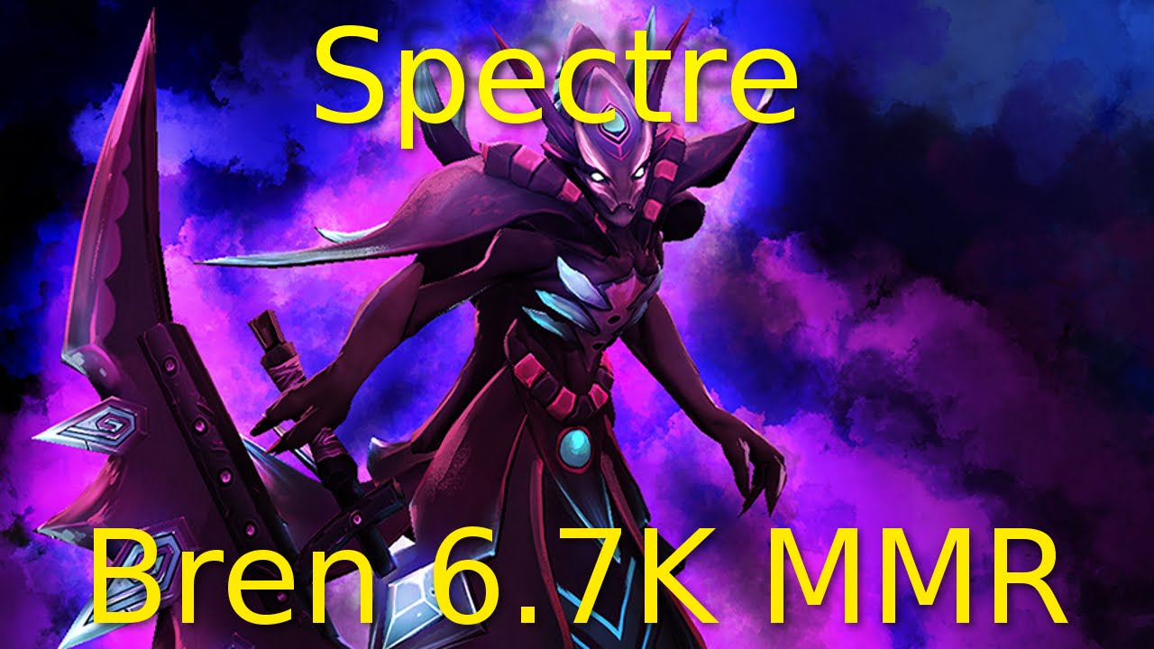 dota 2 spectre guide 6 7k mmr handling tough lanes youtube