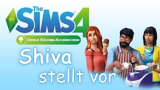 Shiva stellt vor - Die Sims 4 - Coole Küchen Accessoires