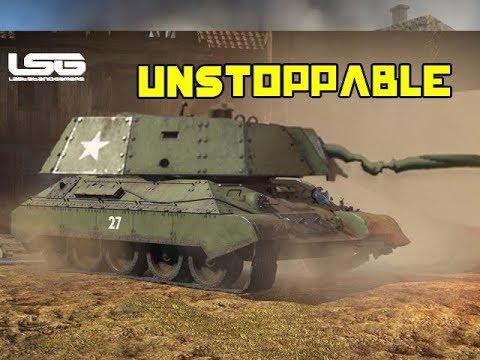 Russian Bias T34E Unstoppable Realistic Battle  - War Thunder