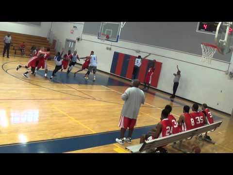 Ft. Gordon vs Eglin basketball away 2015 Part 3