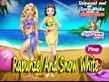 Rapunzel And Snow White Summer Break | Princess Baby Girl Game - Baby Games #KidSvetik#