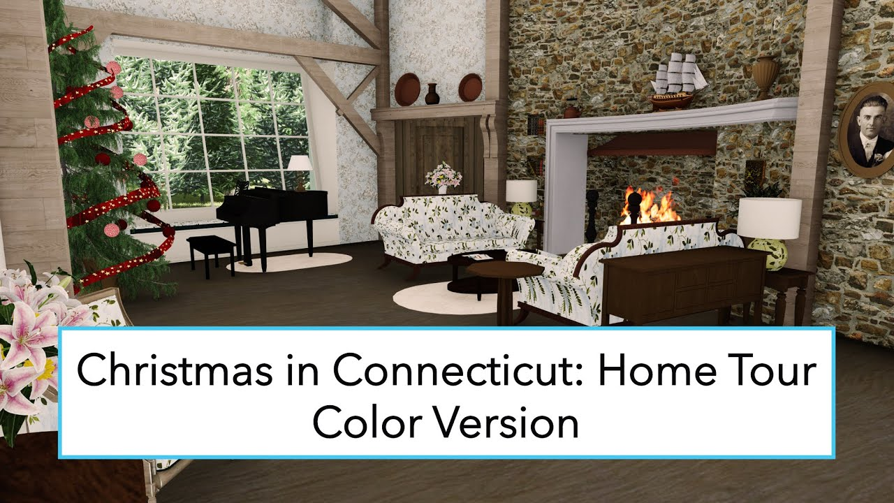 Christmas in Connecticut: Home Tour [CG