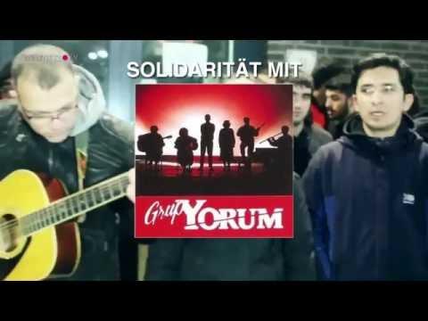 Solidarität mit Grup Yorum am 18. Juni in Gladbeck