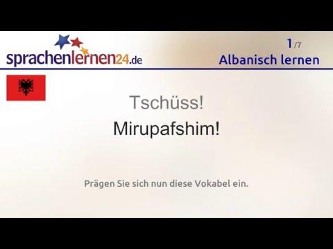 Lernen Sie Die Wichtigsten Wörter Auf Albanisch