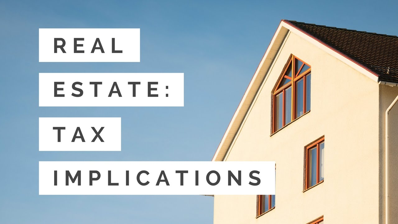 tax implications when selling your home - youtube