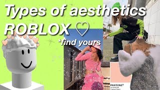 Types of Aesthetics in Roblox//Find your Aesthetic