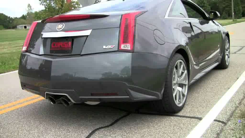 2011 2015 cadillac cts v performance exhaust system kit corsa 14942 youtube. Black Bedroom Furniture Sets. Home Design Ideas