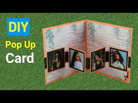 DIY Easy Pop-Up Card | Friendship Day Card |