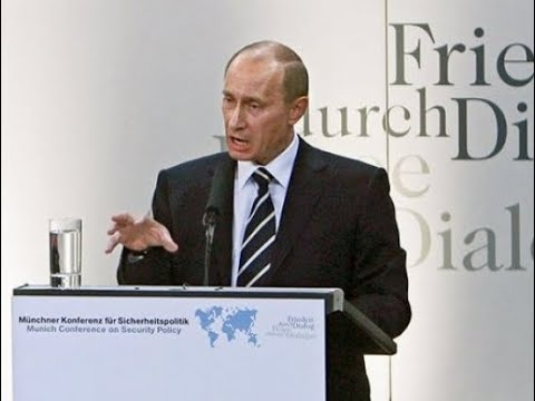 Putin's memorable Munich Speech 2007