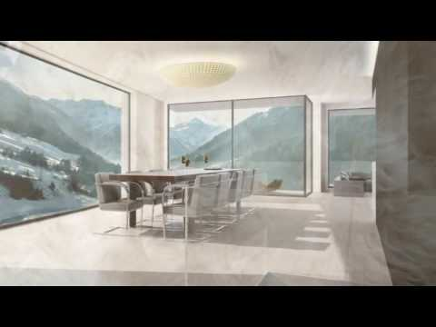 Stunning architectural residences in Ischgl, Austria, near one of the best ski resorts in the Alps
