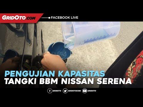 Pembuktian Kapasitas Tangki BBM Nissan Serena, Benarkan Sampai 78 Liter?