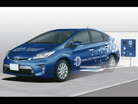 Toyota Wireless Electric Vehicle Charging System
