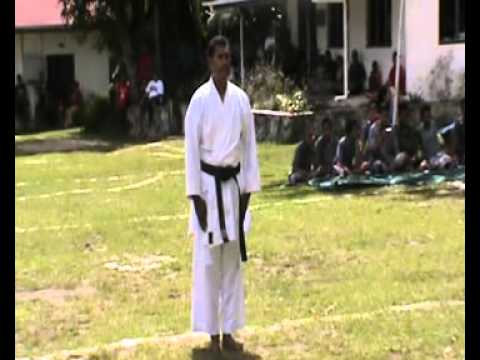 Karate Demonstration - Rotuma High School 2014 Part 2