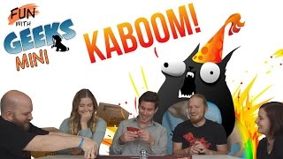 Fun With Geeks Mini | Exploding Kittens (Julcsi, Viktória, Sirius, Kaci)