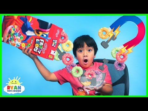 Cereal Science Experiments for Kids to do at home!!!