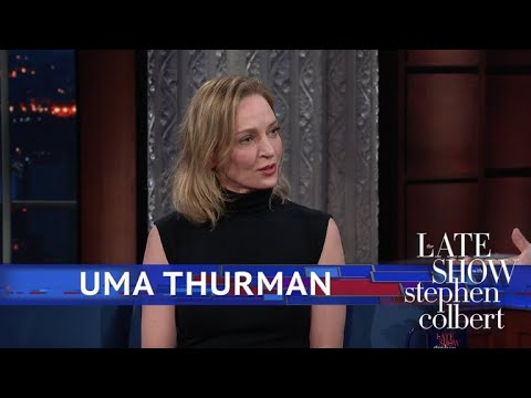 Uma Thurman's Character Refuses To Say The Words 'Donald Trump'