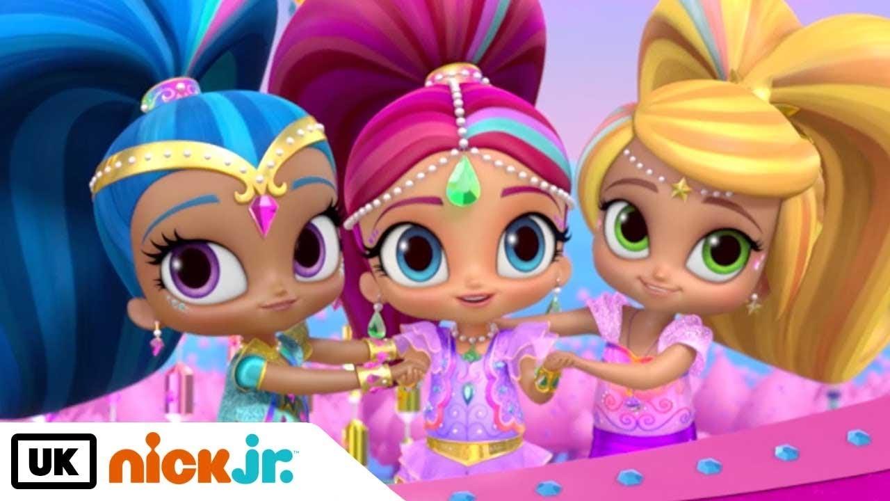 Shimmer And Shine Best Friends Shimmer Shine Leah Nick Jr