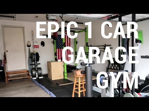 Epic car garage gym youtube