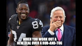 Antonio Brown Says He's Done With The Nfl .. Calls Out Bob Kraft & Big Ben