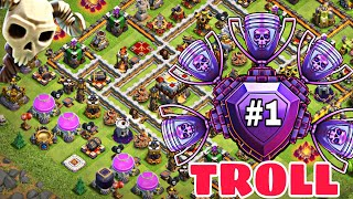 Town Hall 11 Trophy/Troll Base 2018 | Th11 Best Defensive Trophy Base for Legend League w/PROOF