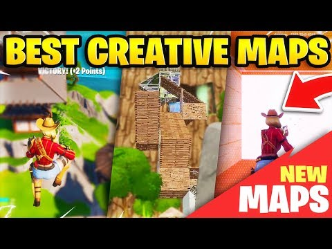 The BEST Fortnite Creative Maps For Console + PC! (Fortnite Creative Map Codes)