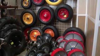 видео колеса для тачки купить