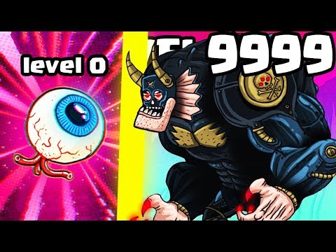 IS THIS THE STRONGEST ALIEN MONSTER BOSS EVOLUTION? (LEVEL 9999+ TITAN) l Tap Busters New Game |