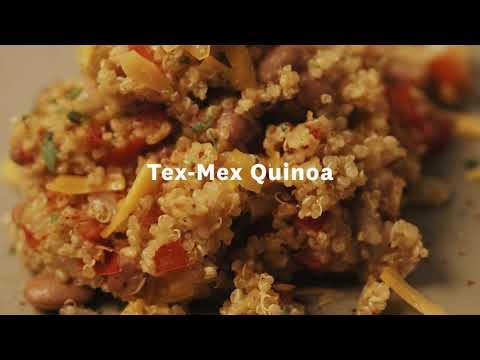Thumbnail to launch Tex-Mex Quinoa video