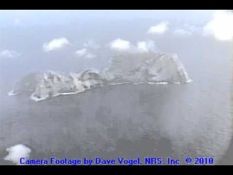 Aerial View of Nihoa Island