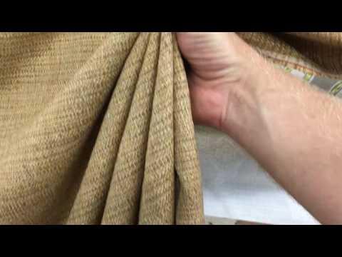 Brown Heavy Weave Drapery Fabric