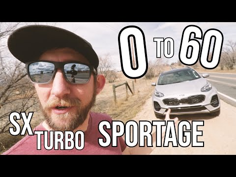2020 Sportage SX Turbo Acceleration Test (High Altitude)