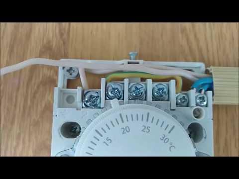 Как подключить терморегулятор к инфракрасному обогревателю видео