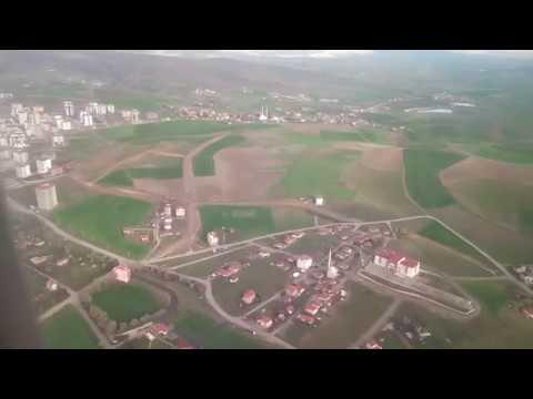 Ankara Esenboğa Havalimanı'na İniş   Landing to Esenboğa Airport