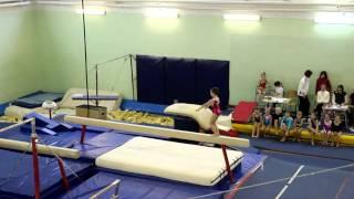 School competition, beam, 1 junior level