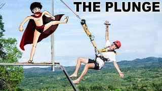 The DEADLIEST Swing in Bohol Philippines! (The Plunge) Ft. The Ahern Family
