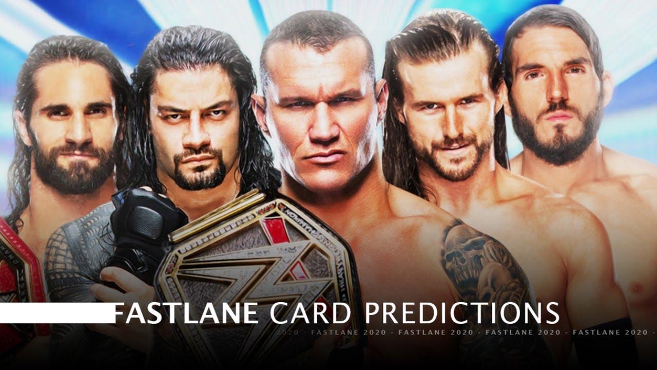 Wwe Fastlane 2020 Full Show.Wwe Fastlane 2020 Match Card Predictions Fastlane 2020 Match Card Predictions