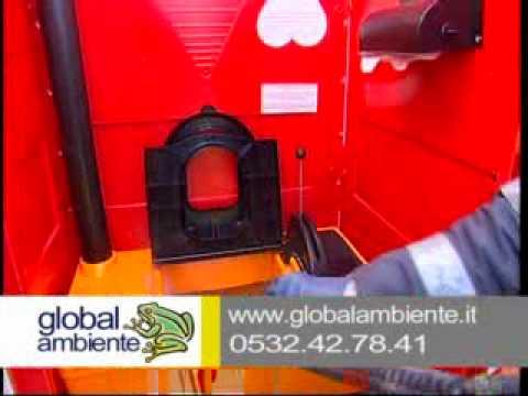 Noleggio WC chimici SEBACH Globalambiente 2009 - YouTube