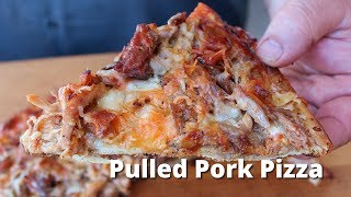 Grilled Pulled Pork Pizza | BBQ Pizza Recipe on Grilla Kong