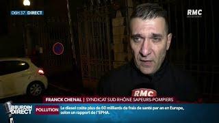 Les pompiers du Rhône manifestent aujourd'hui à Lyon avant une possible grève