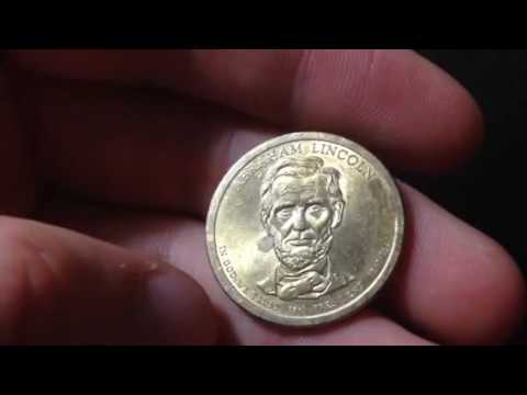 Abraham Lincoln United States Dollar Coin