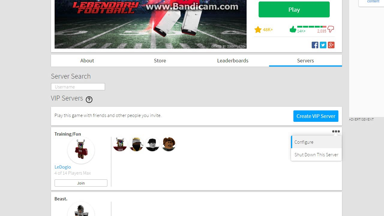 How To Generate A Link For Your Private Server In Roblox Youtube