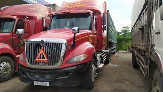 Bán xe đầu kéo container mỹ kèm rơ moóc giá 1,1 tỷ số điện thoại trong phần mô tả video.